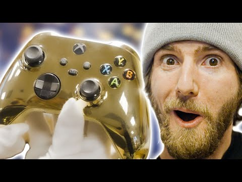 The World's Most Expensive Xbox Controller is DONE