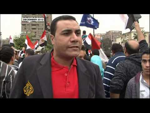 Mass protests mark Morsi's tumultuous year