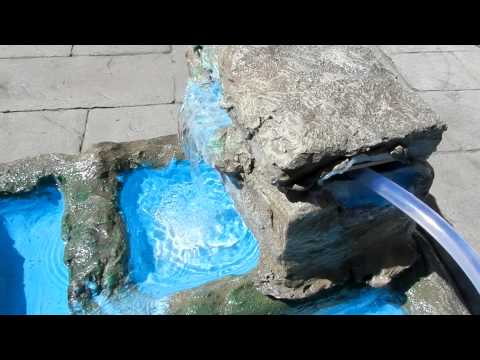 New Homemade Tropical Waterfall For Reptile Enclosure 1080p HD