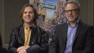 """Zootopia"" Interview With Directors Byron Howard & Rich Moore"