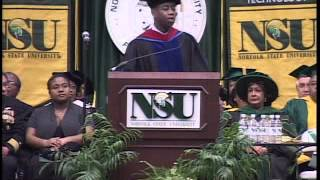 Rear Admiral Barry Black (Ret.) Commencement Speech
