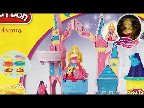 Magical Designs Palace Set / Magiczny Zamek Śpiącej Królewny - Play-Doh - A6881 - Recenzja