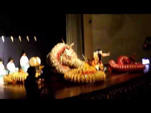 12th Konya International Mystic Music Festival Japan Iwami Kagura Gotsu-dan 7