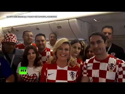 «Спасибо за сердечный приём!» — президент Хорватии поблагодарила россиян на русском языке