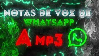 Download Lagu Como convertir notas voz de whatsapp a mp3 fácil Gratis STAFABAND