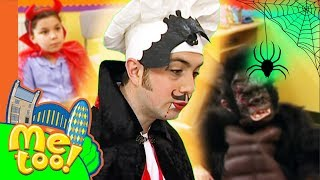 Me Too! - Spooky Dress Up Party | This Is #Halloween | TV Show for Kids