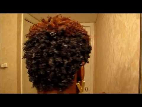 Wash and go using Cantu Shea Butter