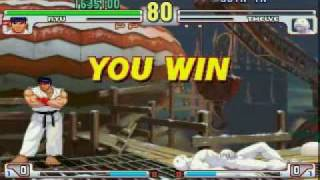 Street Fighter III 3rd Strike speed run 1/2
