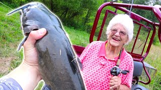 147 YEAR OLD GRANDMA GOES CATFISHING! *MAMMY*