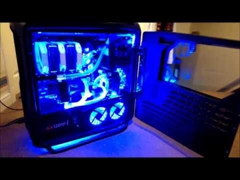 Custom Watercooled Cosmos 2 FrozenQ Res Window Mod