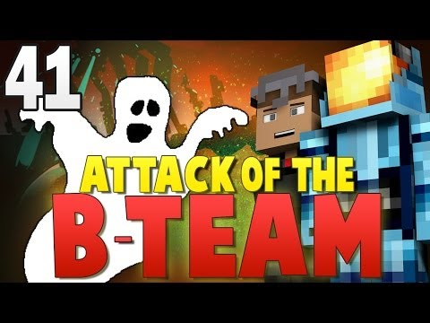 Minecraft Attack of the B-Team #41   GHOST BLOCK PRANKS! - Minecraft Mod Pack Survival