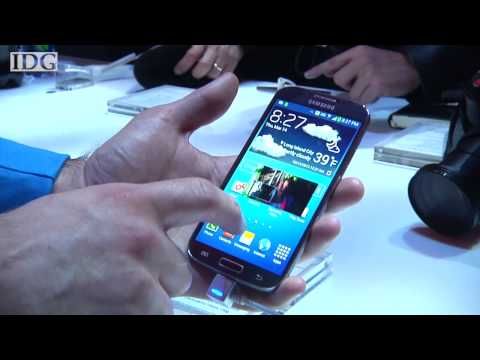 Hands on: Samsung Galaxy S4 - Air View. Dual Shot. Multi-Screen. gesture control