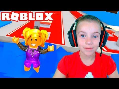 Роблокс СИМУЛЯТОР ГИМНАСТИКИ игровое видео для детей про спортивную гимнастику в Roblox
