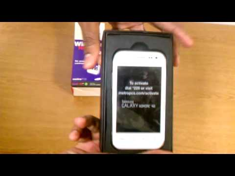 Samsung Admire 4g Unboxing