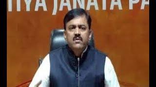BJP MP GVL Narasimha Rao Press Meet | Vijayawada