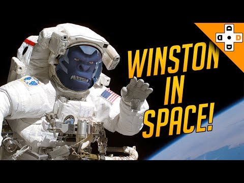 Overwatch Funny & Epic Moments 142 - WINSTON IN SPACE! - Highlights Montage