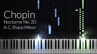 Nocturne in C-sharp Minor - Frederic Chopin [Piano Tutorial] (Synthesia)