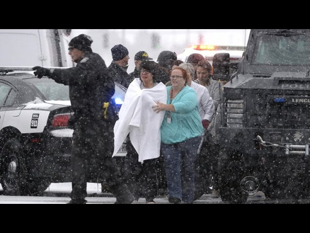 Gunman surrenders after standoff with police at Colorado Springs Planned Parenthood