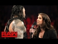Roman Reigns Wants Payback Against Braun Strowman In Las Vegas: Raw, Feb. 13, 2017