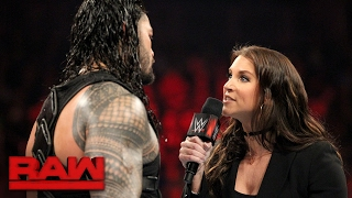 Roman Reigns wants payback against Braun Strowman in Las Vegas: Raw, Feb. 13, 2017