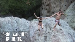 Connor, Zaq, Clara, and Raina Go Cliff Jumping | Season 1 Epsiode 24 @SummerBreak