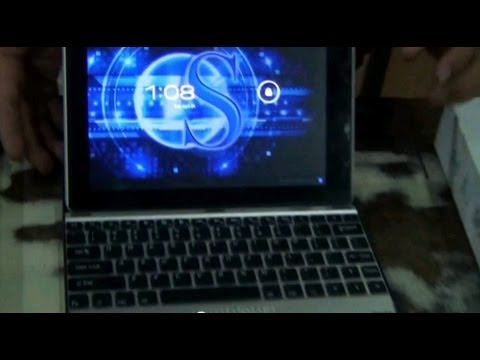 Review of Optima 9.7 Tablet (Opt 400) (720p HD)