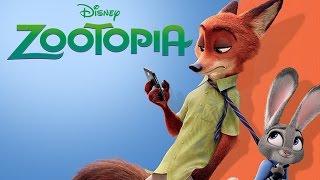 Disney ZOOTOPIA Movie Story Book for Children