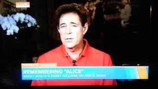 TODAY: Barry Williams Remembers Alice Ann B. Davis