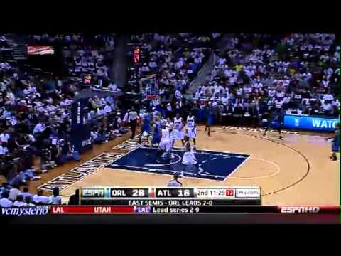 Orlando Magic All Field Goals Highlights vs Atlanta Hawks - 2010 Playoffs Game 3