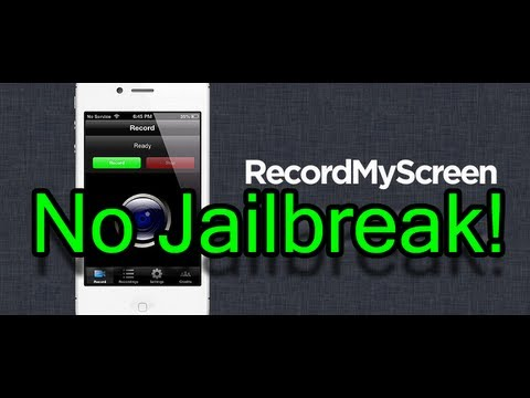 How To Record Your iOS Screen For Free NO JAILBREAK!!