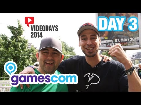 Gamescom 2014 with Docm77 — Video Days with G