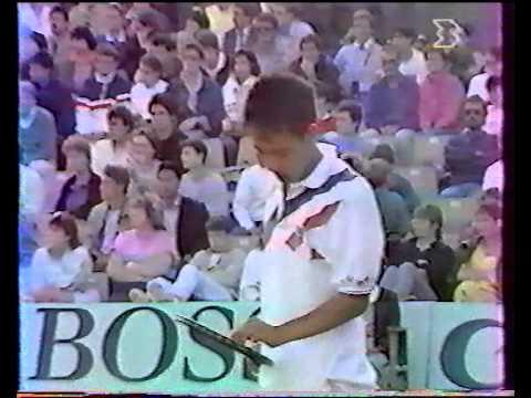 チャン vs マッケンロー - ローランギャロス 1988 - 07/08