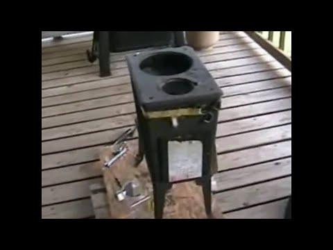 Rebuilding and repairing a Jotul 602 N woodstove
