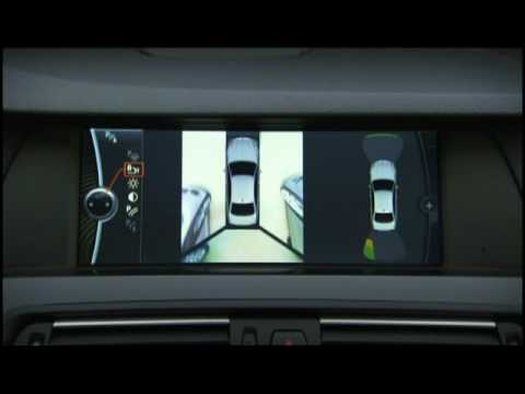 New Bmw 5 Series Sedan 530d Surround View Camera Youtube