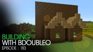 Minecraft Building with BdoubleO - Episode 183 - Starting My House