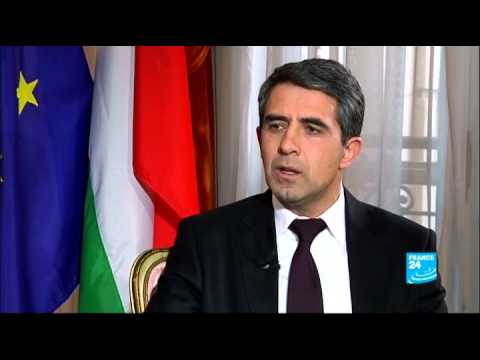 FRANCE 24 The Interview : Rosen Plevneliev, Bulgarian President