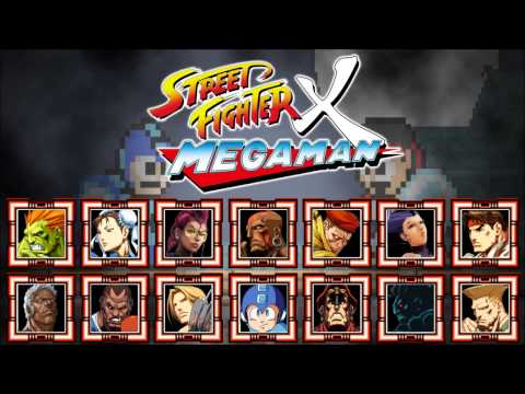 Street Fighter X Mega Man - All Character Themes