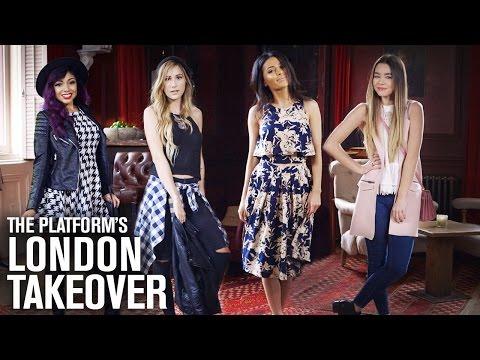 Teni Panosian, CharismaStar, SierraMarieMakeup & Lana Show Their London Fashion at BeautyCon!