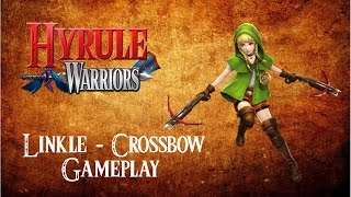 Hyrule Warriors Wii U Gameplay - Linkle - CrossBow