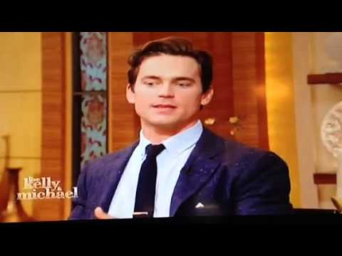 Matt Bomer on Kelly and Michael 10/14/13