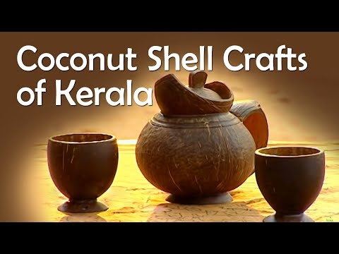 Handicrafts, Coconut Shell, Kerala