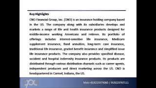 CNO Financial Group, Inc  CNO   Company Profile and SWOT Analy