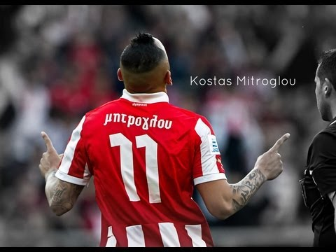Kostas Mitroglou - All Goals in Olympiacos | 2012/13 HD