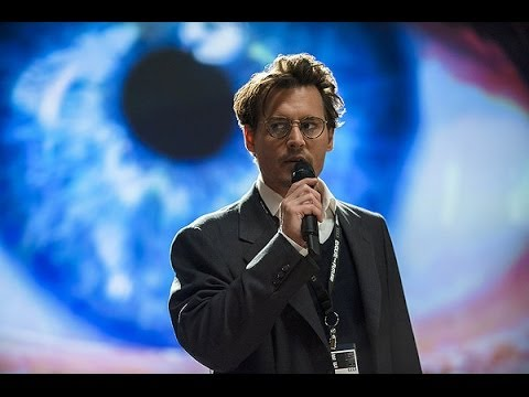 Transcendence (Starring Johnny Depp) Movie Review - YouTube