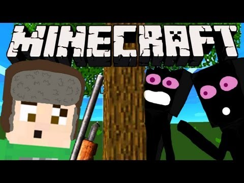 Minecraft - ENDERMAN HUNT