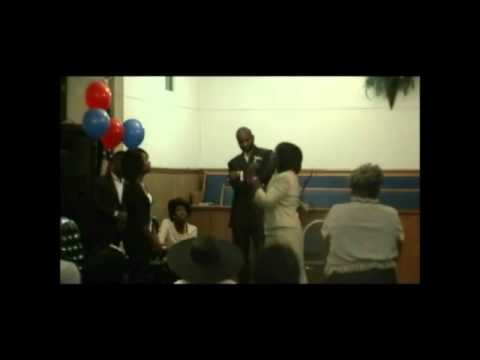 Evangelist Delores Richmond & Elder Darnell Gooch Jr at Diamond McGhee Birthday Concert