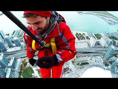 FALLING FROM SKYSCRAPER! (10.19.14 - Day 2000!!!)