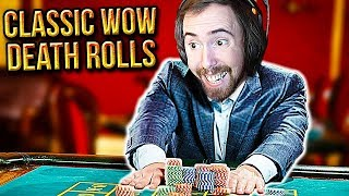 ALL IN! Asmongold Loses His Mind Death Rolling In Classic WoW