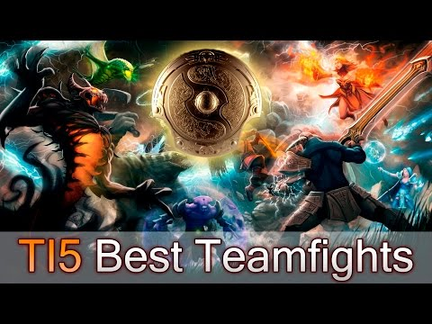 Best teamfights of The International 2015
