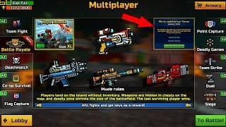 Pixel Gun 3D - NEW HUGE UPDATE 15.0.0 - ( NEW WEAPONS / NEW EVENT/ NEW MULTIPLAYER ( Battle Royal )
